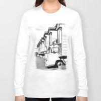 volkswagen Long Sleeve T-shirts featuring Volkswagen Van by Rainer Steinke