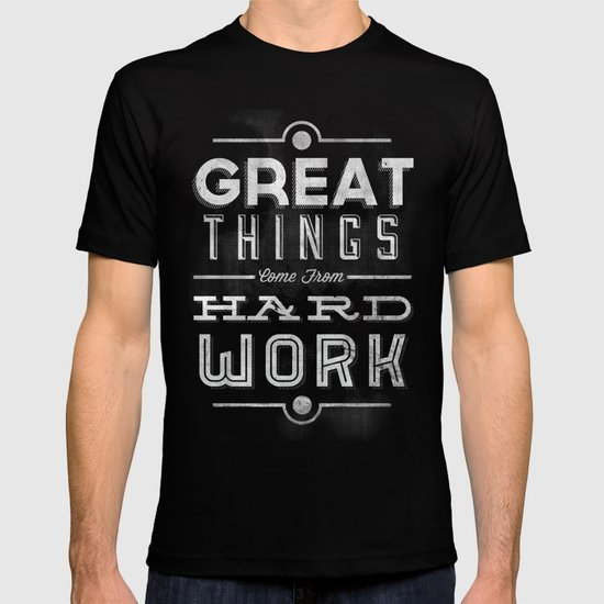 Great Things in Chalk T-shirt