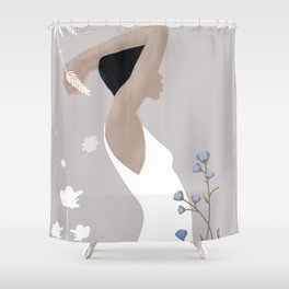 Summer Morning II Shower Curtain