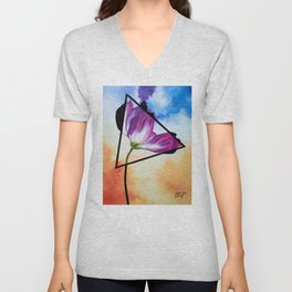Twisted Tulip Unisex V-Neck