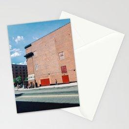 Walking The Spanish Harlem New York Stationery Cards