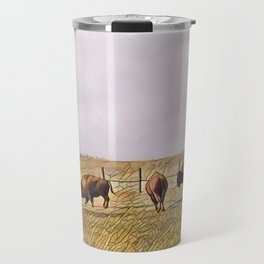 Montana Buffalo Range Travel Mug