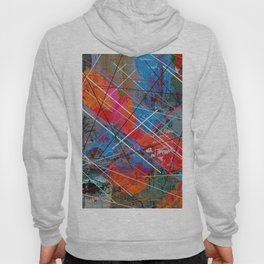 Canvas Abstract Tres Hoody