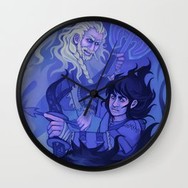 Wolf Fighters Wall Clock