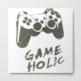 GAME HOLIC Metal Print