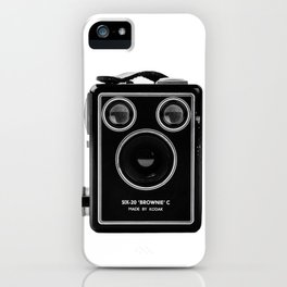 Box Brownie iPhone Case
