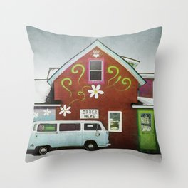 Order Here Throw Pillow