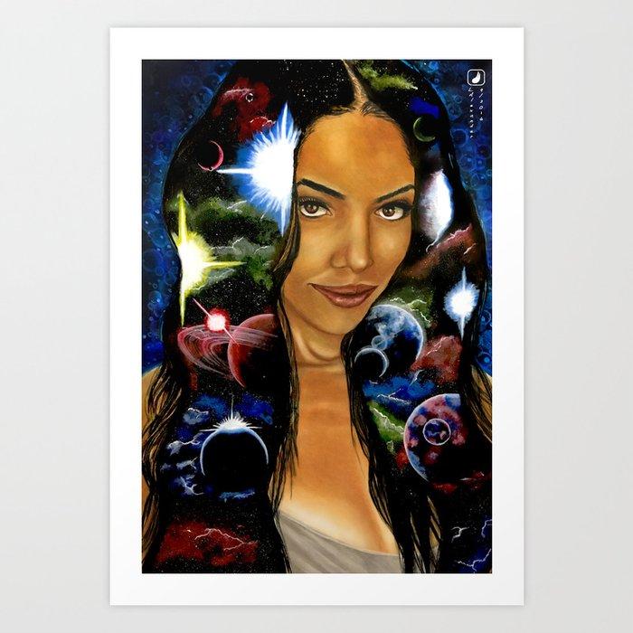 Wisdom of Sophia Art Print