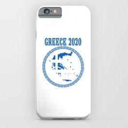 Greece 2020 iPhone Case