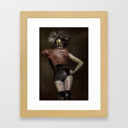 meet me in your nightmares Framed Art Print