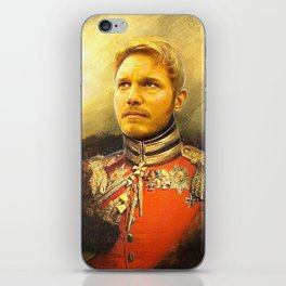 Starlord Guardians Of The Galaxy General Portrait Painting | Fan Art iPhone Skin