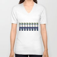 mad V-neck T-shirts featuring MAD by BNK Design