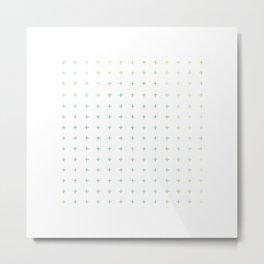 100 + plus Metal Print