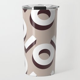 Domio Keyhole Pattern Travel Mug