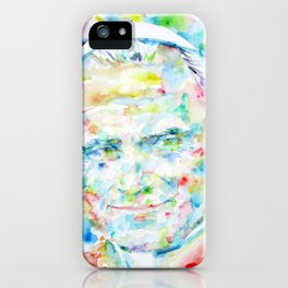 POPE JOHN PAUL II - watercolor portrait iPhone Case