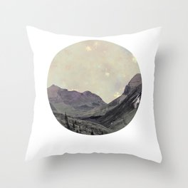 Alps Wanderer Throw Pillow