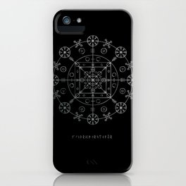 WitchRide Stave iPhone Case
