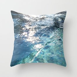 Water, Water Everywhere Throw Pillow