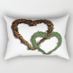 natural hearts Rectangular Pillow