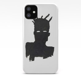 Selfportrait after Basquiat iPhone Case