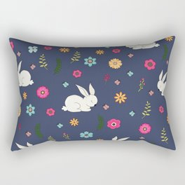 Easter bunny Rectangular Pillow