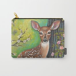 Flora and Fawn by Robynne Carry-All Pouch