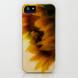 Soft Sunflower iPhone Case