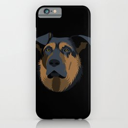 Ruby (German Shepard) iPhone Case