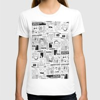 scandal T-shirts featuring Scandal Pattern by CLSNYC