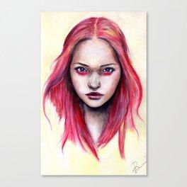 Pink Gemma-2012   Canvas Print