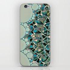 Bloom Mandala in Ocean iPhone & iPod Skin