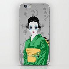 Geisha G iPhone & iPod Skin