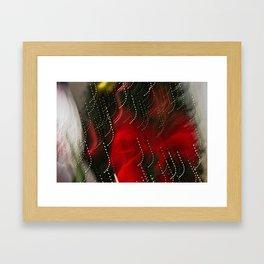 Abstract Madcap Noel Framed Art Print