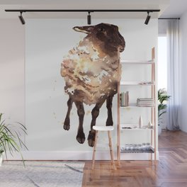 Silly Ewe Wall Mural