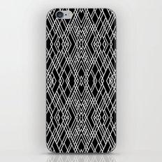 Art Deco Black and White iPhone & iPod Skin