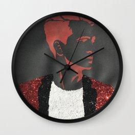 Brendon Urie Glitter Print Wall Clock
