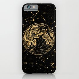 Into The Galaxy iPhone Case