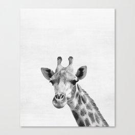 Giraffe, Animal, ZOO, Safari, Nursery, Minimal, Modern, Wall art Canvas Print