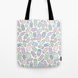 Pastel Pencil Party! Tote Bag