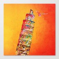 italy Canvas Prints featuring Italy  by mark ashkenazi
