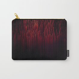 Neon Melt Pixel Carry-All Pouch