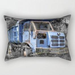 Old Tipper Truck Rectangular Pillow