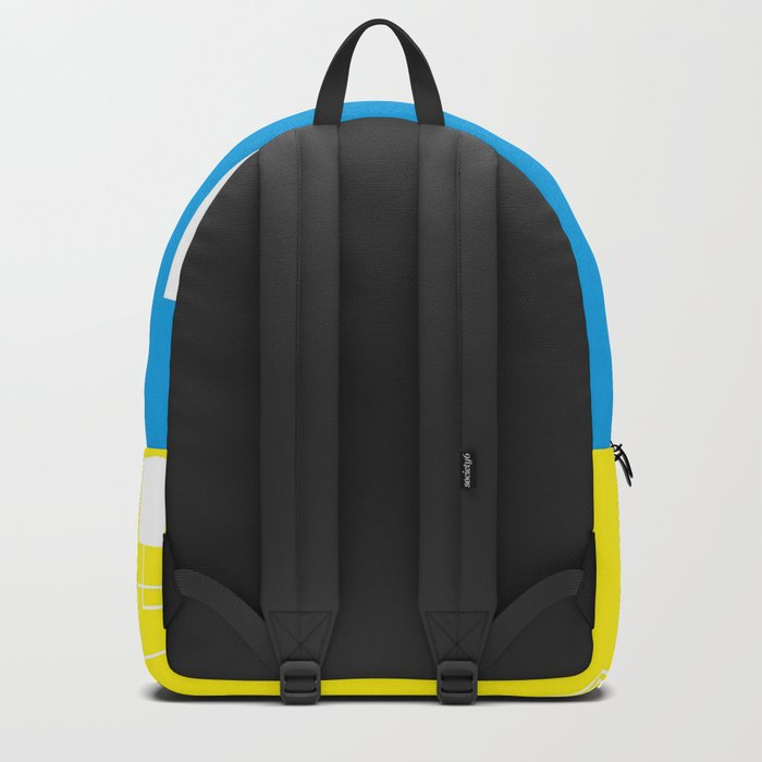 Simple Color Primary Colors Backpack