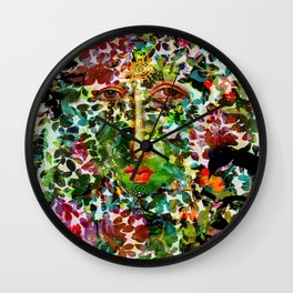 colorful dream Wall Clock
