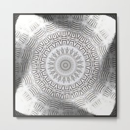 METAL Element Kaleido Pattern Metal Print