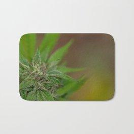 Cannabis Flower Bath Mat