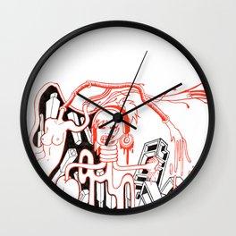 Music make me loop Wall Clock