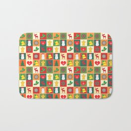 Beautiful cups & accessories at Christmas time Bath Mat