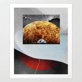 collage 69. Art Print