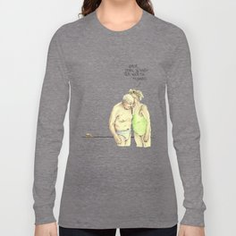 old couple Long Sleeve T-shirt